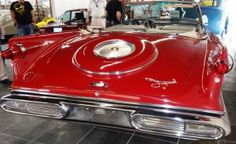 Review the Top 5 Classic Car Trim and Accessories of the Mid-50s: Chrysler Gunsight Taillight Assemblies