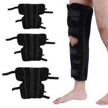 b370267f64 Adjustable Patella Knee Brace Support Arthritis Knee Joint Fixing  Compression Sleeve Knee Splint Protector Fracture Foot