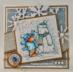 Anneke's hobbyblog Let It Snow, Let It Be, Card Ideas, Vintage World Maps, Christmas Cards, About Me Blog, Challenges, Stamp, Merry Christmas Card