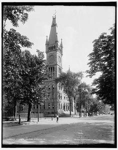 Municipal building, Scranton, Pa. circa 1890