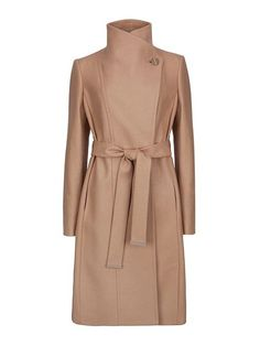 ted baker aurore long wrap coat products pinterest coats shops and ted baker. Black Bedroom Furniture Sets. Home Design Ideas
