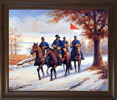 Impact Posters Gallery Civil War Blue Soldier on Horses Wall Decor Black Framed Picture Art Print Frame Wall Decor, Framed Wall Art, Wall Prints, Framed Art Prints, Picture Wall, Picture Frames, Print Pictures, Framed Pictures, Gallery Wall Frames