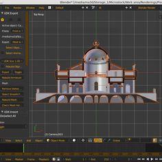 Work in progress: Palladio's Rotonda Villa vertical section.