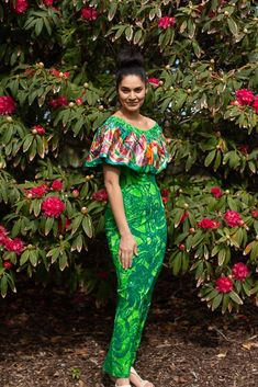 Hinano Dress (Limited Stock) – Tav Ltd Dress Outfits, Cute Outfits, Fashion Outfits, Polynesian Dresses, Samoan Dress, Yellow Accessories, Island Wear, New Arrival Dress, Different Dresses