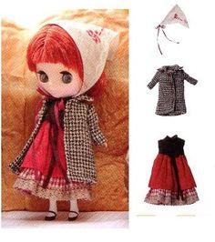 PDF Pattern Petite Blythe Coat Dress and Babushka English templates names and sewing key included