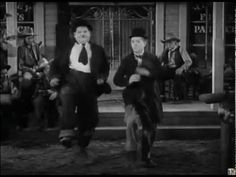 Laurel and Hardy dance to the Rolling Stones