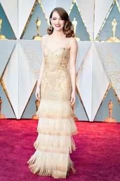Emma Stone, 2017. Oscars.
