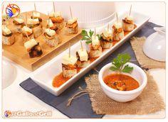 Finger food con Cozze e Brie