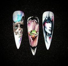 Aquarell by Krisztina - Nail Art Gallery nailartgallery.nailsmag.com - WOW!