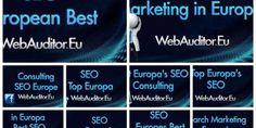 Top Europa SEO – SEO European Top #WebAuditor.Eu Europe's Search Marketing Best
