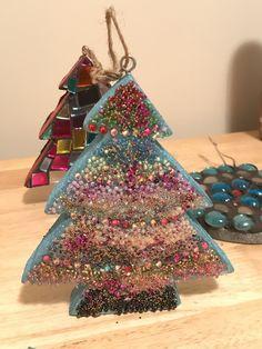 Mosaics, Christmas Ornaments, Holiday Decor, Handmade, Home Decor, Hand Made, Decoration Home, Room Decor, Mosaic
