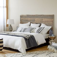 Image 2 of the product Double Fringe Washed Percale Cotton Duvet Cover