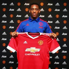 Manchester United sign Anthony Martial from AS Monaco - Official Manchester United Website