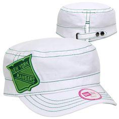 1ce22df1f New Era New York Rangers St. Paddy s Day Women s Chic Cadet Adjustable Hat  - White