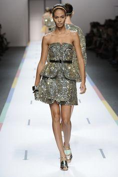 FENDI Woman SS13 Ready to wear Fashion show 49/50
