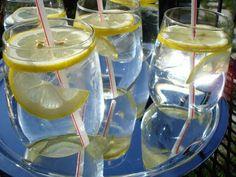 fancy lemon water