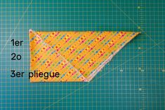 HACER UNA TIRA DE BIES - MIMANA PATCHWORK Projects To Try, Sewing, Bandana, Facebook, Scrappy Quilts, Dress, Bias Tape, Sewing Doll Clothes, Sewing Stitches