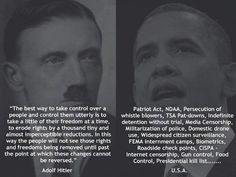 Hitler vs. Obama- You Decide