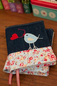 Bird notebook cover