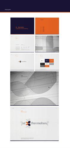 St-thermohus Corporate Brand Identity   Designer: Sebastian Gram   Image 5 of 8