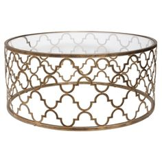 Uttermost Quatrefoil Coffee Table ❤ liked on Polyvore featuring home, furniture, tables, accent tables, quatrefoil furniture and quatrefoil table