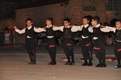 Cypriot Children doing a traditional Greek dance