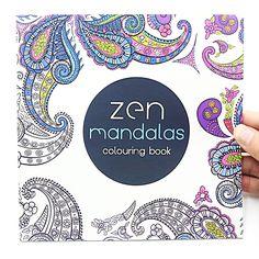 1 UNIDS 24 Páginas Mandalas Flor Libro Para Colorear Para Los Niños Adultos Aliviar El Estrés Matan Tiempo de Graffiti Pintura Del Arte de Dibujo Libro