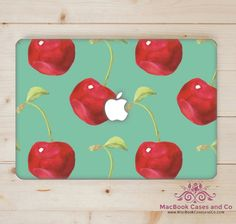MacBook Skin. Laptop Skin. Cherry by MacBookCasesandCo on Etsy