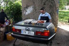 Car Humor: No, I said I *have* a BMW, not I *drive* a BMW...