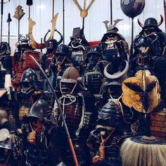 Samurais waiting for four centuries.
