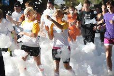 A different take on the mud runs...Foam Fest 5k in Spokompton.