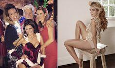 SEBASTIAN SHAKESPEARE: Harrow's very naughty Miss turns sexy Santa. Just a woman being a wo-man again!!!