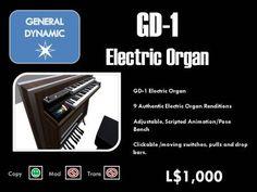 GD-1 Electric Organ