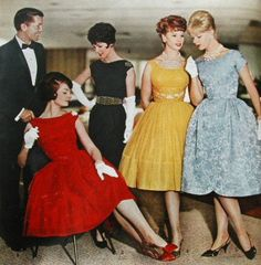 """1960 Fashions (What is the difference between the """"haves and the have-nots?"""" Find out by clicking the picture.)"""