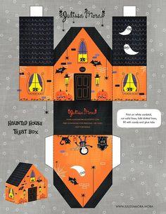 Imprimolandia: Casa de Halloween