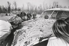 happening allan kaprow - Pesquisa Google. Allan Kaprow's 'Women licking jam off a car,' from his happening 'household' (1964).