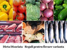 dieta disociata variante de meniu Rina Diet, Eggplant, Metabolism, Food And Drink, Health Fitness, Vegetables, Mai, Medical, Sport
