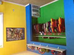 Boys Superhero Bedroom Ideas love the brick perhaps could find wallpaper that looks like