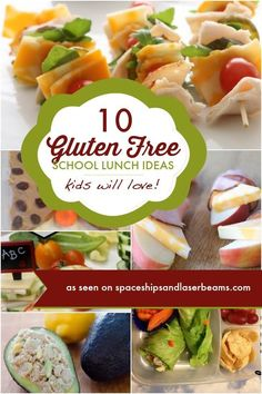 Is it possible to keep your kids gluten free when they go back-to-school? Yes, with these Gluten Free School Lunch Ideas! #featured #food #glutenfree