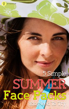 Summer Face Packs for Oily Skin: Summers aggravate oil secretion for people with oily skin types. Coupled with sweat and dirt, its a sure shot invitation for breakouts and other skin problems to happen. So here are some simple face pack recipes I've put together with easily available ingredients. These packs are great for controlling the oil secretion of the skin.