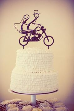 Motorcycle Wedding Cake Topper Ok So Its Not A Itself But Still