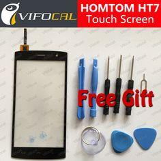 HOMTOM HT7 touchscreen 5.5 inch + Gereedschap Set Gift Hoge Kwaliteit Digitizer glas panel Vergadering Vervanging voor mobiele telefoon