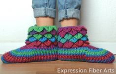 the cutest crochet booties ever!