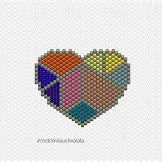 Le diagramme coeur !   #diagrammemiyuki #motifmilouchkalala #miyukibeads #miyuki #perlesmiyuki #miyukiaddict #brickstitch #tissageperlesmiyuki #jesuisunesquaw #perlesaddict #jenfiledesperlesetjassume #jenfiledesperlesetjaimeca #perlezmoidamour #perlesaddictanonymes