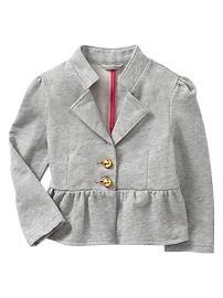 Toddler Girls' Outerwear: jackets, zip-up hoodies, coats, vests at babyGap   Gap