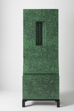 Malachite trumeau by Piero Fornasetti 1956. The original project was made by Gio Ponti, then modified by Piero Fornasetti. One of only 3 made.