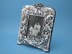 Bilderrahmen - 13 x 9,5 cm - 925er Silber - London 1990 #1059