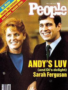 photo | Prince Andrew Cover, Sarah Ferguson Cover, The British Royals, Prince Andrew Windsor, Sarah Ferguson