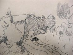 iGavel Auctions: Pierre Bonnard, French, 1867-1947, Double Sided Pencil Drawing L8BBA8