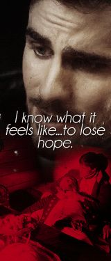 I know what it feels like... to lose hope. | Colin O'Donoghue as Captain Hook | Once Upon A Time